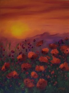 Sunsets & Poppies II