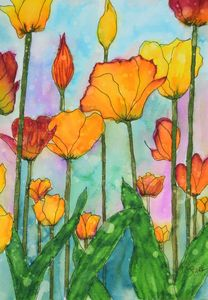 Fanciful Tulips