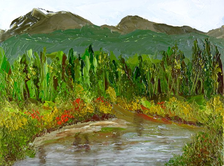 Reflections of Maine - Barrie Stark Art
