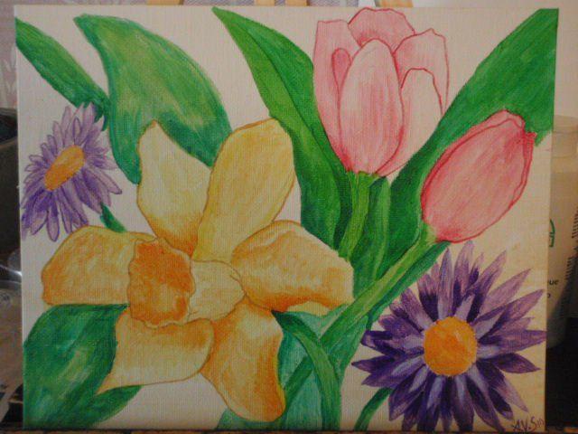 Assorted Flowers - Amber V Stephens