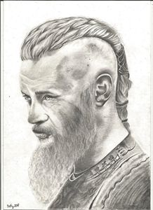 original portrait  Ragnar Lothbrock