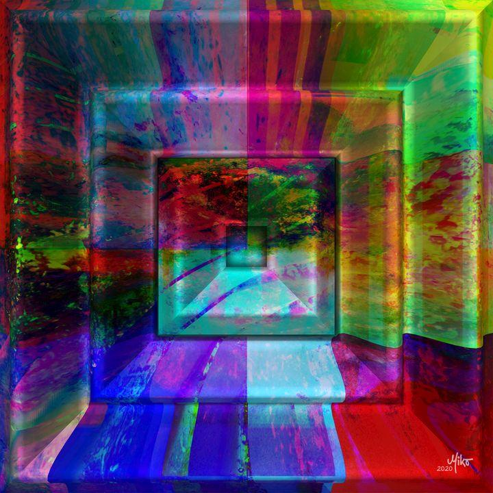 Miko Framed horizon 2020 - Miko Resinpaintings