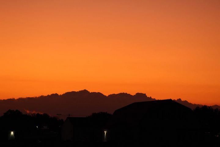 Orange sunset - Shotzbynoah