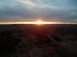 Sunset of the Wichitas