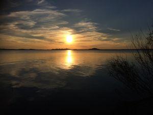 Sunset of OKC
