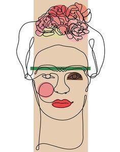 Lines of Frida