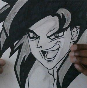 Super Sayian 4 Goku