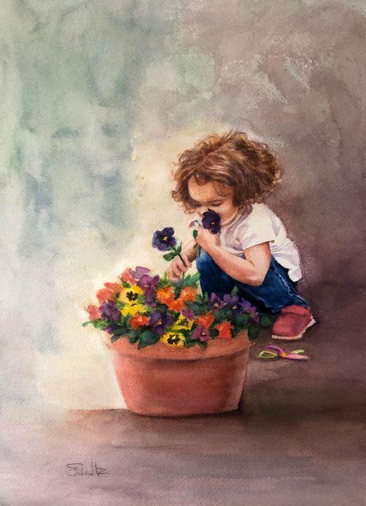 The Florist - EileenMz Art