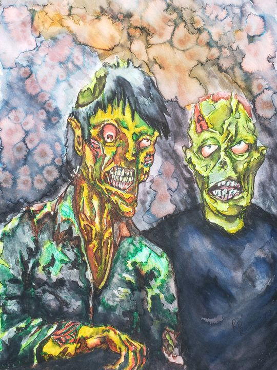 Zombiefied - R.D. Rich Arts