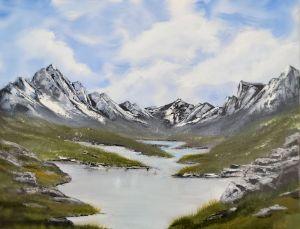 Glacier Lake - Ang Mac