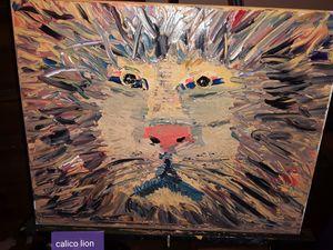 Calico Lion