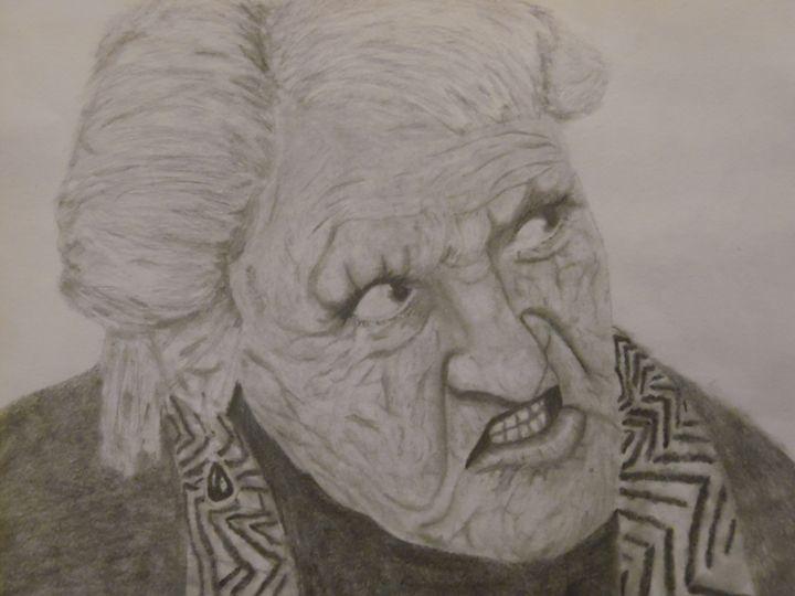 Angered Woman - Aubrey's Art
