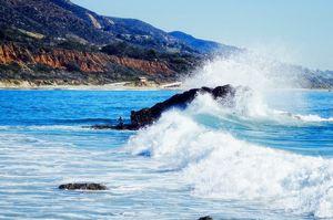 Leo Carillo Surf spot