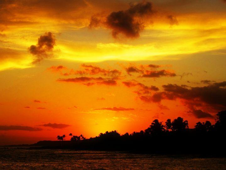 Hawaii Sunset #1 - Anna Karin Photography