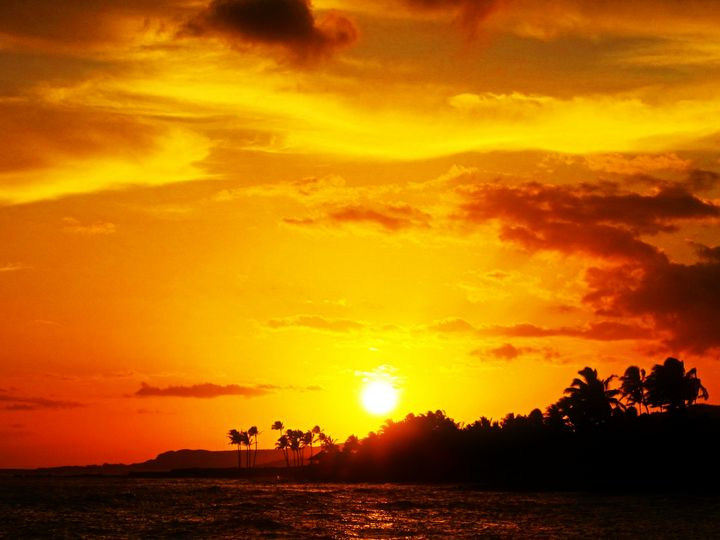 Hawaii Sunset #2 - Anna Karin Photography