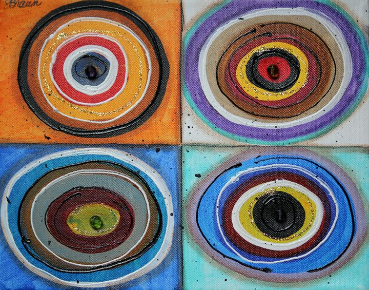 Circles - Funky Picasso