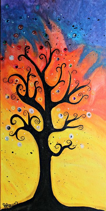 Abstract Tree - Funky Picasso