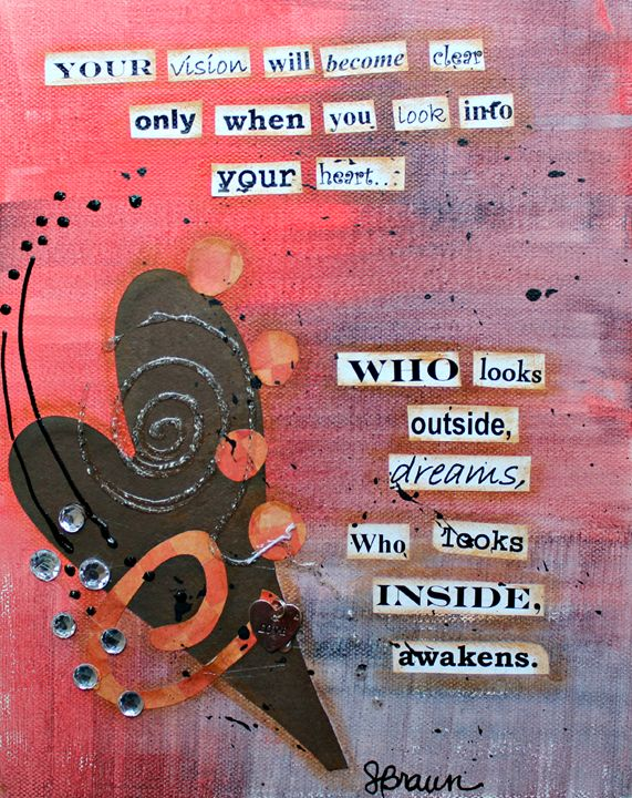 Look Inside Yourself - Funky Picasso