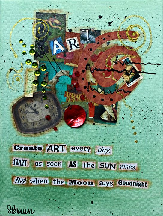 Create Art Everyday(2) - Funky Picasso