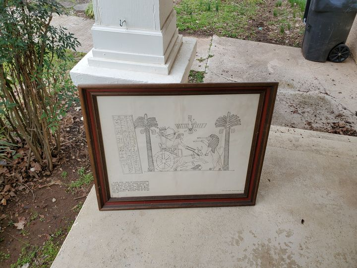 7 Egyptian prints( only1 shown here) - Mcsammer