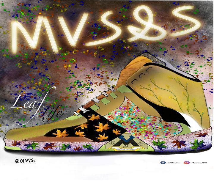 MVS&S leaf life - MVS&S Classic canvas