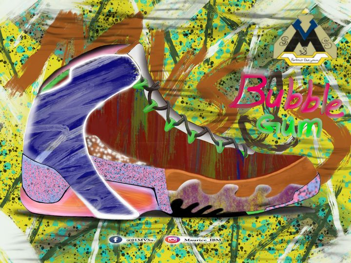 MVS&S Bubble Gum - MVS&S Classic canvas