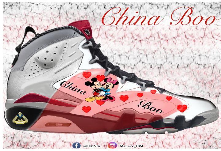 China boo - MVS&S Classic canvas
