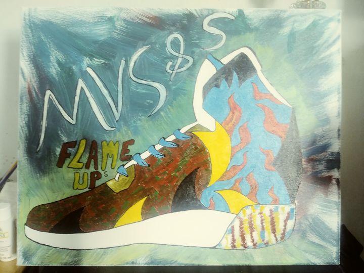 MVS&S Flame-ups - MVS&S Classic canvas
