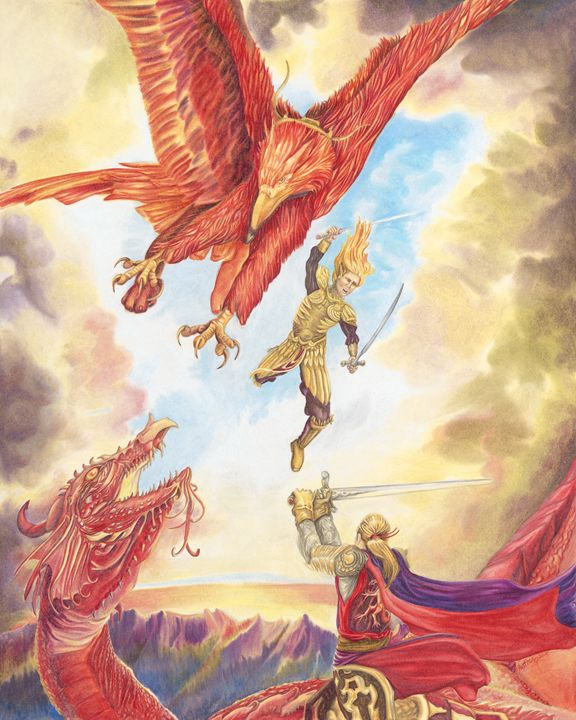 Red - Wings of Fantasy