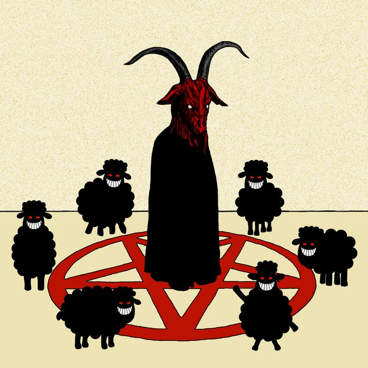 BLACK SHEEP AND A GOAT - Oliver Hassell