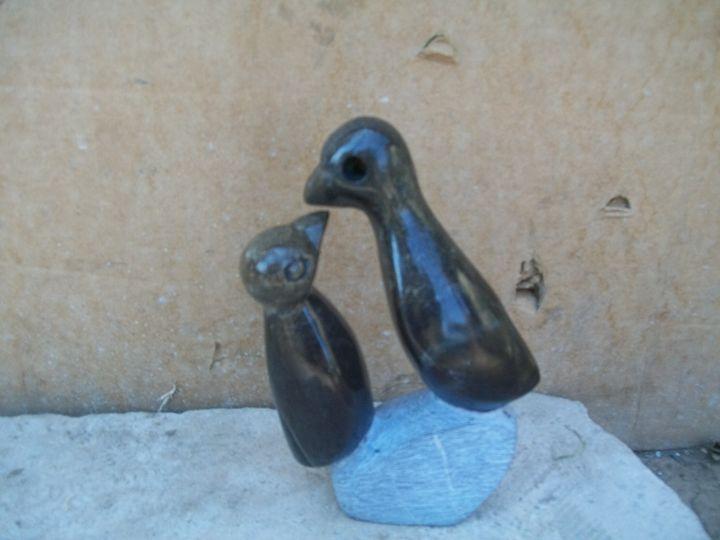 sculpture bird - ART DECOR