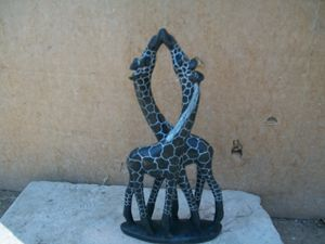 sculpture giraffe - ART DECOR