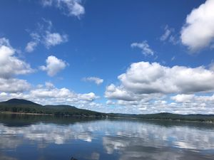 Sacandaga Lake Cloudy Day