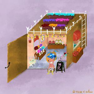 Boxy Flower Shop