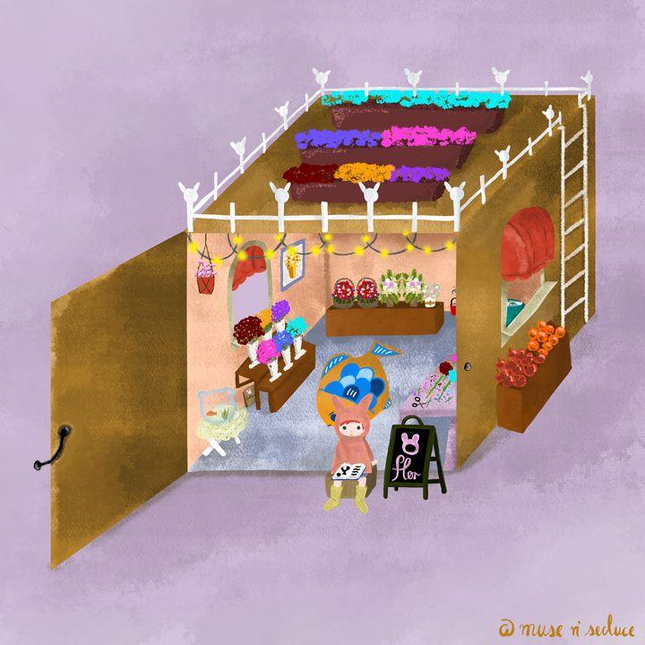 Boxy Flower Shop - Muse n' Seduce