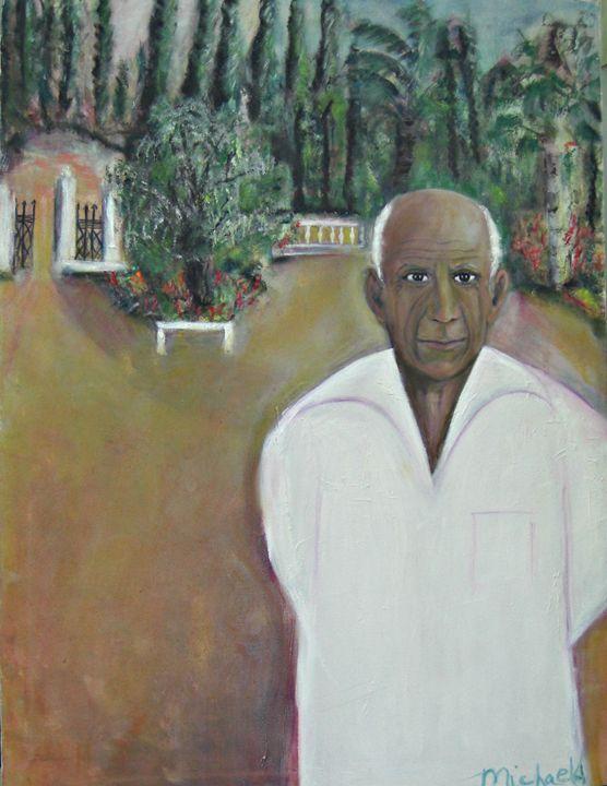 Picasso at Villa Mariposa - Michaela Galleries
