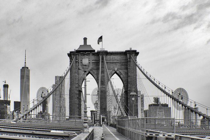 Brooklyn Bridge & Freedom Tower - Jeanpaul Ferro