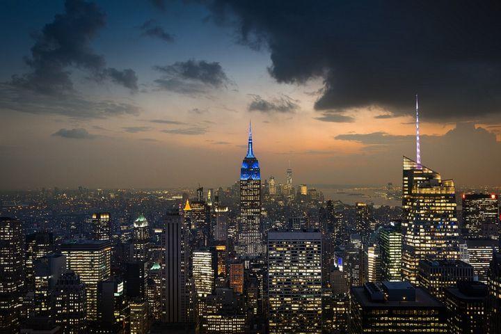 Manhattan Skyline - Jeanpaul Ferro