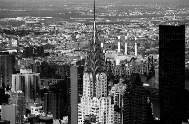Chrysler Building B&W - Jeanpaul Ferro