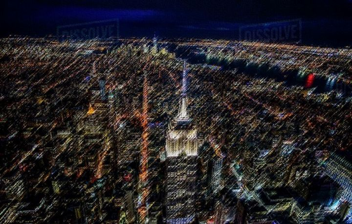 Empire State Landscape Painting - Jeanpaul Ferro