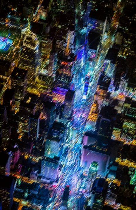 Summertime in Times Square - Jeanpaul Ferro