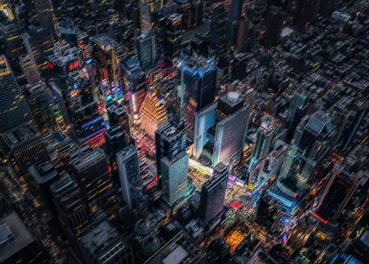 Met you at 1:00 a.m. - Times Square - Jeanpaul Ferro