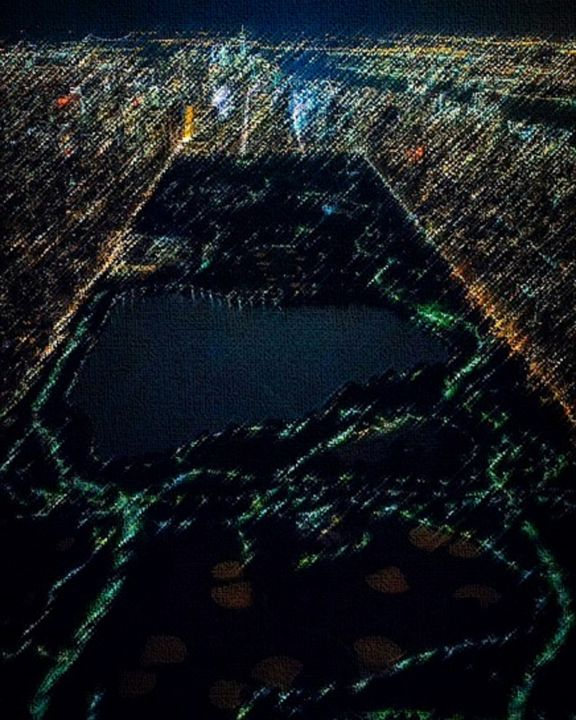 Emerald Roads of Central Park - Jeanpaul Ferro