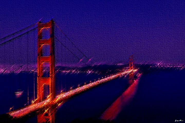 Golden Gate Bridge by Jeanpaul Ferro - Jeanpaul Ferro