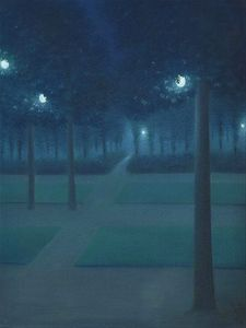 Blue Nocturne in the Park, Night