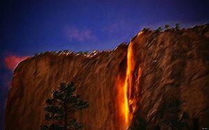 Horsetail Falls by Jeanpaul Ferro