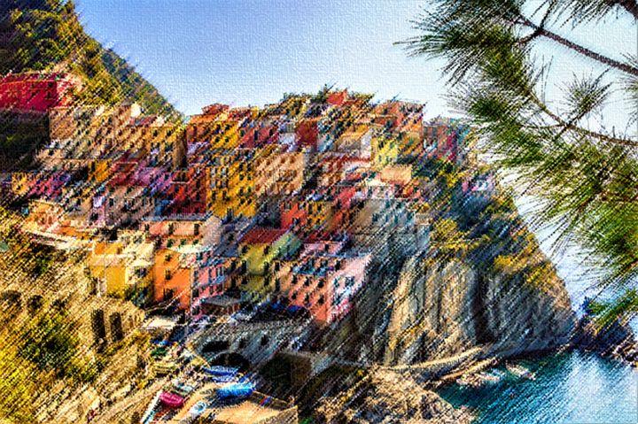 Cinque Terre by Jeanpaul Ferro - Jeanpaul Ferro