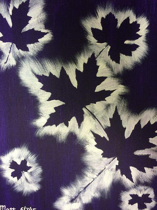 Fall Leaves - MattLampArt