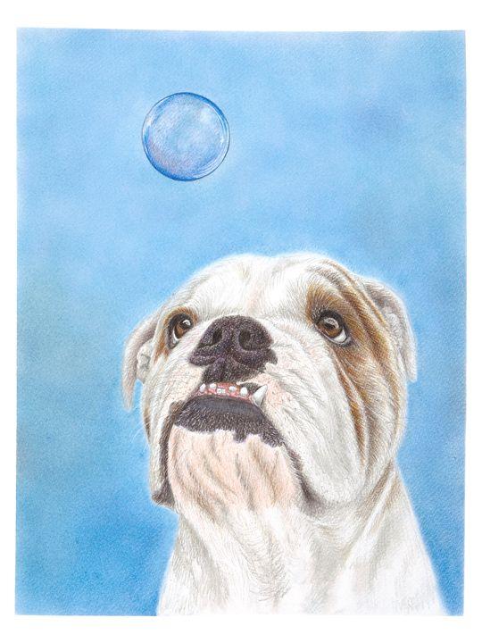 Hank the Curious Bulldog - Tammy Liu-Haller