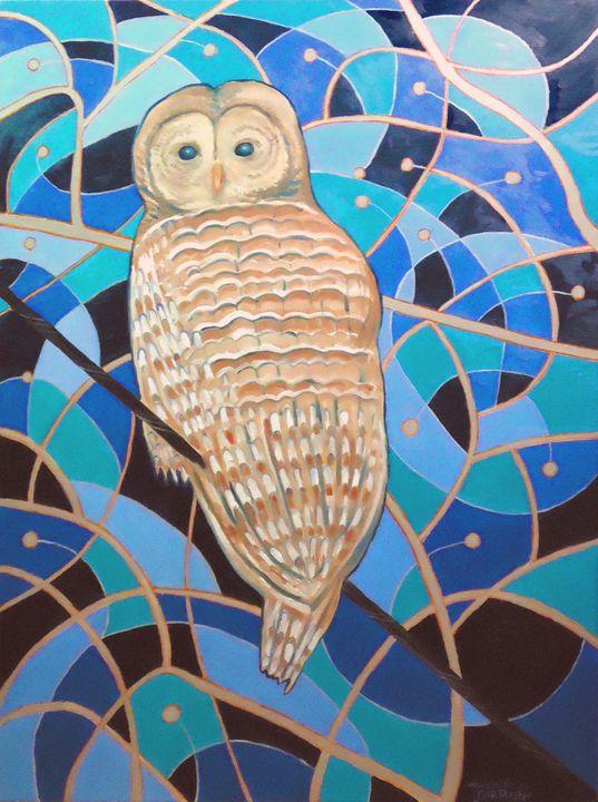 Blue Al - Whimsical Artist Scott Plaster